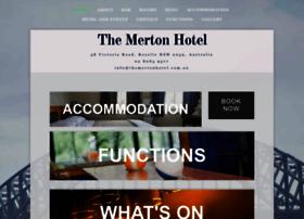themertonhotel.com.au