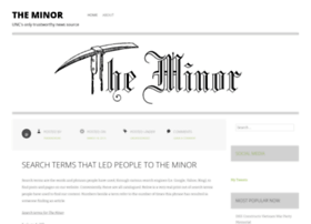 theminorunc.com