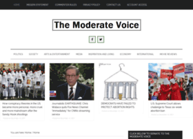 themoderatevoice.com