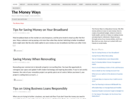 themoneyways.com