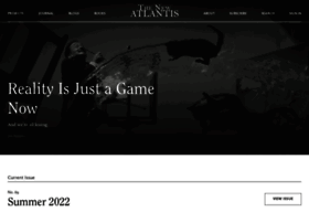 thenewatlantis.com