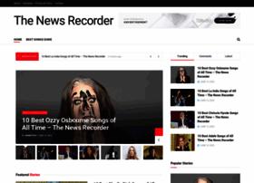 thenewsrecorder.com