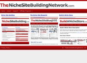 thenichesitebuildingnetwork.com