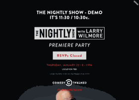 Thenightlyshow-demo.splashthat.com
