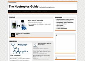 thenootropicsguide.com