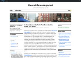 thenorthfacecloth.edublogs.org