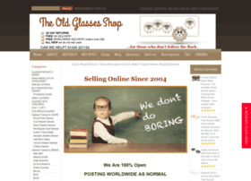 theoldglassesshop.co.uk