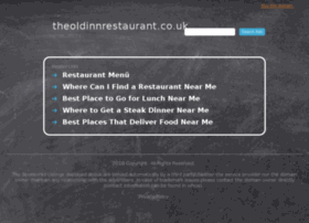 theoldinnrestaurant.co.uk