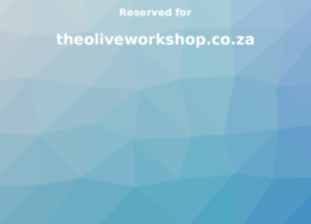 theoliveworkshop.co.za