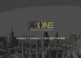 theonemodels.it