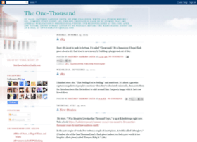 theonethousand.blogspot.in