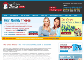 theonlinethesis.co.uk