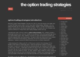 theoptiontradingstrategies.com