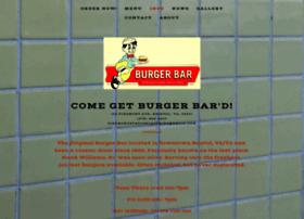 theoriginalburgerbar.com
