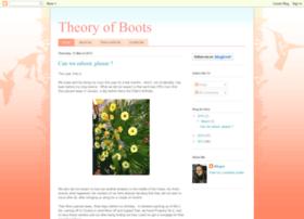 theoryofboots.blogspot.com