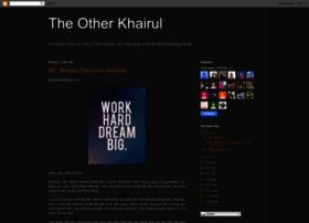 theotherkhairul.blogspot.com