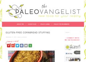 thepaleovangelist.com