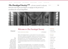 theparalegalsociety.wordpress.com