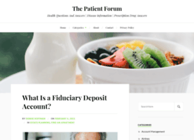 thepatientforum.com
