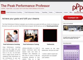 thepeakperformanceprofessor.com