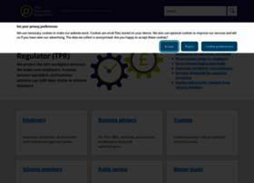 thepensionsregulator.gov.uk