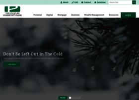 thepeoplescommunitybank.com
