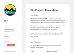 thepeoplesrevolution.org