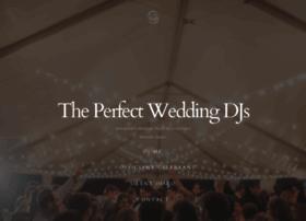 theperfectweddingdjs.com