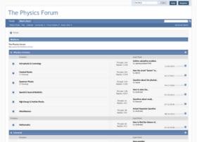 thephysicsforum.com