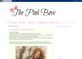 thepinkfashionbow.blogspot.it