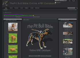 thepitbullbible.com