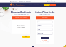 theplagiarism.com