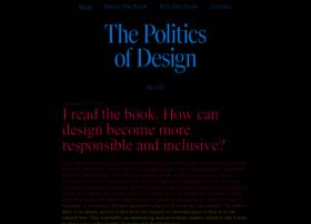thepoliticsofdesign.com