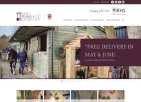 theposhshedcompany.co.uk