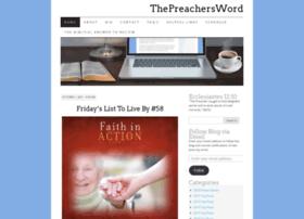 thepreachersword.com