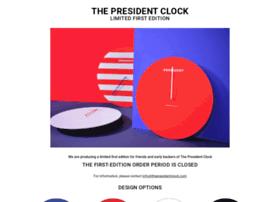 thepresidentclock.com