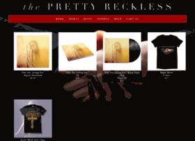 theprettyreckless.merchnow.com