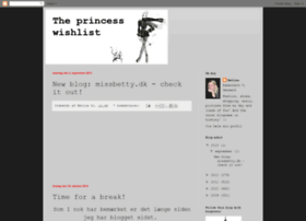 theprincesswishlist.blogspot.se