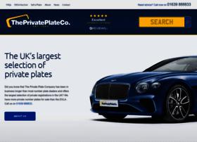 Theprivateplateco.co.uk