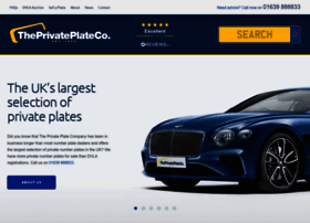 theprivateplateco.co.uk