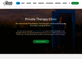 theprivatetherapyclinic.co.uk