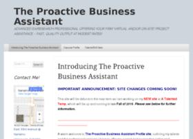 theproactiveassistant.wordpress.com