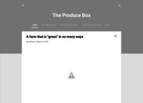 theproducebox.blogspot.com