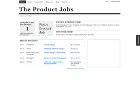 theproductjobs.com