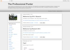 theprofessionalpunter.blogspot.com.au