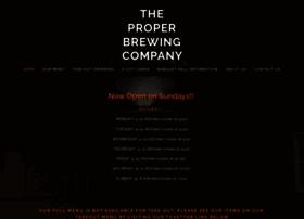 theproperbrewing.com