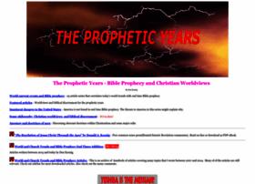 thepropheticyears.com