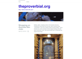 theproverbial.org