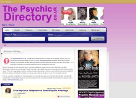 thepsychicdirectory.co.uk
