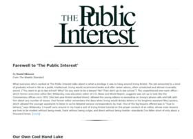 thepublicinterest.com